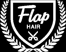 FLAP HAIRのロゴです